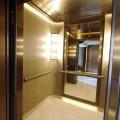 Elevador de Passageiros com Espelho em Aço Inoxidável