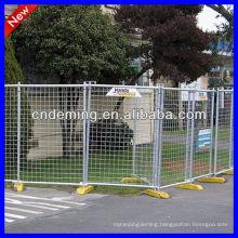 Australia Hot Dipped Galvanized Temporary Fencing