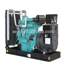 CE & ISO Certificateds!! China Wuxi 3 AC phase generator with Wandi Engine