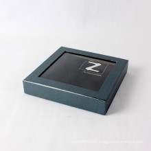 Custom Screen Printing With PVC Window Paper Gift Box Packaging
