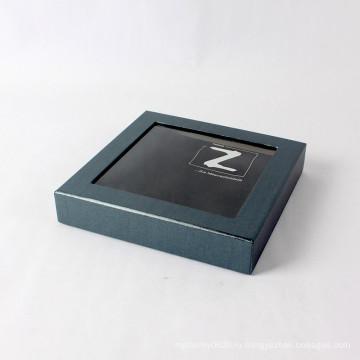 Изготовленный на заказ печатание экрана с окном PVC Бумажная Коробка подарка Упаковывая