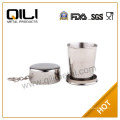 Stainless Steel Floding Cup/floding cup