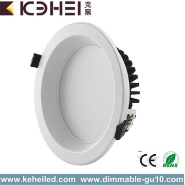 12W Dimmable Downlights 4 pulgadas blanco negro astilla