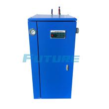Generador de vapor eléctrico montado sobre orugas para curado de hormigón
