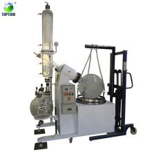 TOPTION equipamento de destilação a vácuo 100l preço evaporador rotativo