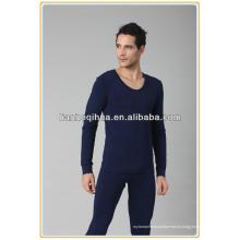 Moda de design homens sem costura sleepwear