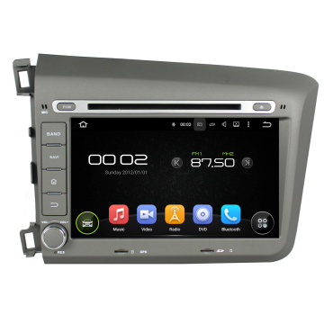 Android auto-dvd voor Honda Civic 2012