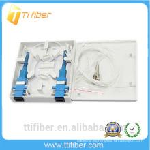 Placa frontal de fibra SC / FC / ST / LC tipo FTTH / Mini caja de distribución