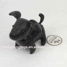 Cool caja de dinero de perro negro PU