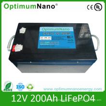 Deep Cycle LiFePO4 12V 200ah Battery for Camper Van