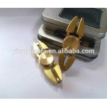 Hot Sel Diseño Único Anti Stress Metal Fidget Hand Spinner