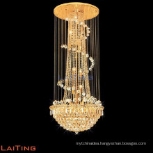 Modern luxury crystal chandelier pendant lights & lighting for weddings 6130