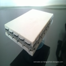 Máquina de placa de modelo de plástico arquitectónico máquina de placa de PE oco