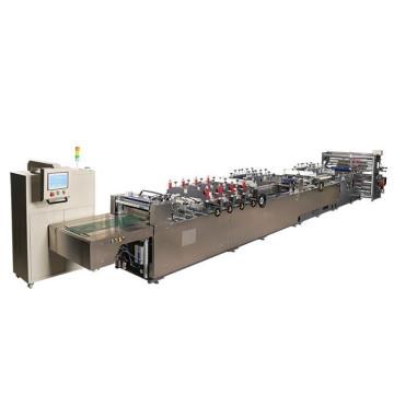 Saco de plástico de vedação central que faz a máquina