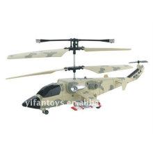 China Juguetes Mini 3 CH R / C Helicóptero de pintura de camuflaje con Giro 818
