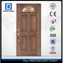 Fiberglas-Tür mit strukturiertem Finish