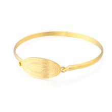 2018 Hot Gold Armband Design Damen Dubai Custom Gravierte Armband