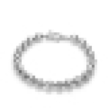 Bracelete simples de prata esterlina 925