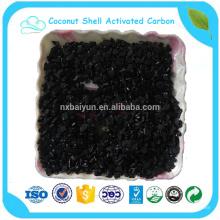 Ceniza 4% Máx. 12 * 40 Carbón activado con cáscara de coco