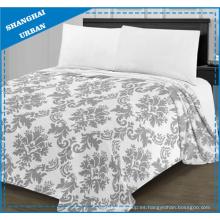 Ropa de cama impresa franela super suave franela