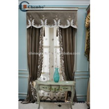 Chine fournisseur rideaux turcs rideaux de velours broder