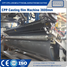 CPP CPE Multilayer Co-extrusion Ligne de film moulé