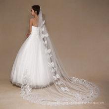 Aoliweiya Tulle Una capa mejor velo de la boda de la venta para la novia