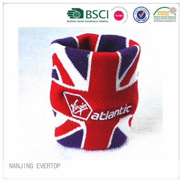 Nouvelle venue Football Fan bracelet Jacquard