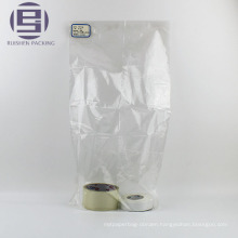 Grocery clear flat packing bags for foods