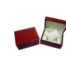 Caja de presentación de lujo del reloj de la laca de madera con la almohada al por mayor (BX-WP-WR)