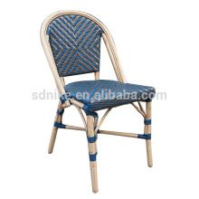 DC- (147) Rattan de mimbre moderna comedor silla / silla de jardín de bambú