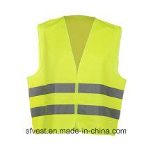 Chaleco de seguridad reflectante de alta visibilidad con colores gripe