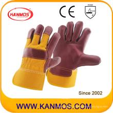 Красная мебель из натуральной кожи Промышленные перчатки безопасности для рук (310043)