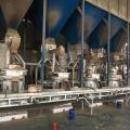 Línea de producción de pellets de paja de biomasa de residuos agrícolas