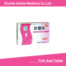 Tablette d'acide folique