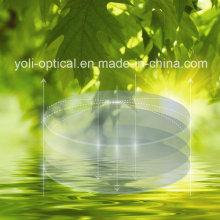 Lentes Ópticas Hmc Super-Hidrófobas Superfónicas Hidráulicas com EMI de 72mm Spherical 1.56