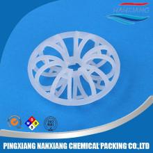 Plastic rosette Plastic Tellerette Ring For Scrubber Packing