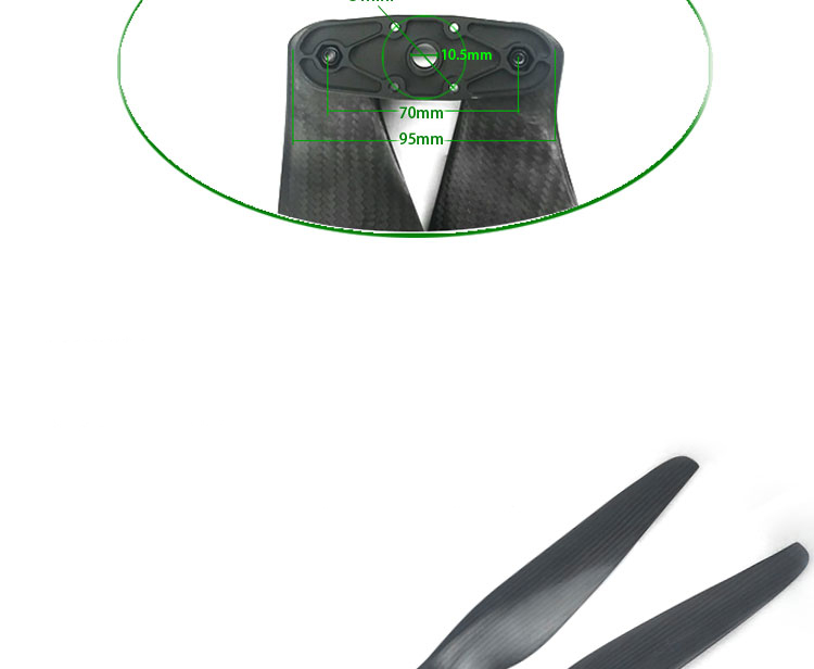 F33105 foldable propellers for drone