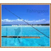 SPR021 barato importação pesca equipamento de fibra de carbono rotação haste