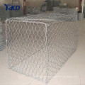 Galvanized/PVC coated hexagonal wire netting/gabion box/stone cage