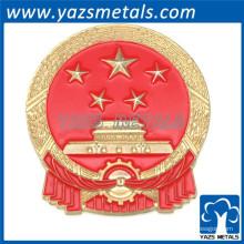 обшивка стране металлический логотип металл ремесло пин-код этикетки