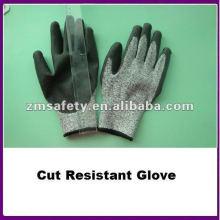 Spectra Cut Resistant Fleischschneidhandschuh mit PU-beschichtetem ZMR462