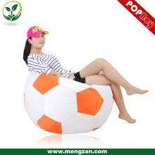 Fútbol diseño adultos beanbag silla solo asiento beanbag sofá