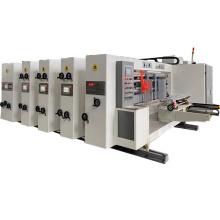 4 Colours Packaging Flexo Printing slotting die cutting Machine Low Price