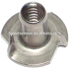 DIN1624 TUERCA 4-CLAW, TUERCA 4-CLAW, tuerca T de la garra, alta calidad de la tuerca de la garra