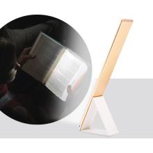 2017 Alibaba Energy 3-Level Lâmpada de Brilho Ajustável USB Mesa Recarregável Luz Mesa