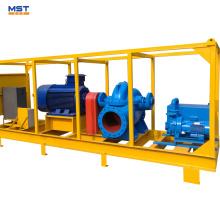 Pompe à eau diesel d'irrigation agricole