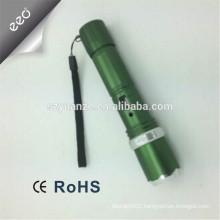 2015 usb flashlight powder bank, rechargeable led torch light, power bank with flashlight