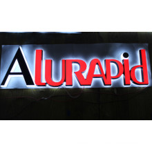 Professional LED Backlit Stainless Steel Channel Letters Signs