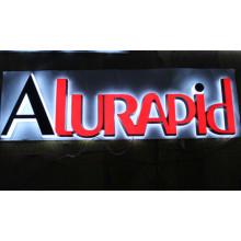 Компания вывески офисные вывески светодиодные акриловые световые буквы канала Открытый 3D акриловые передняя освещенные светодиодный знак магазин